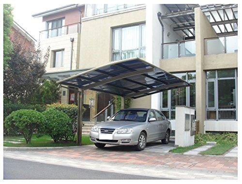 10′ x 20′ Metal Carport Tent Shelter Attached Carport ...