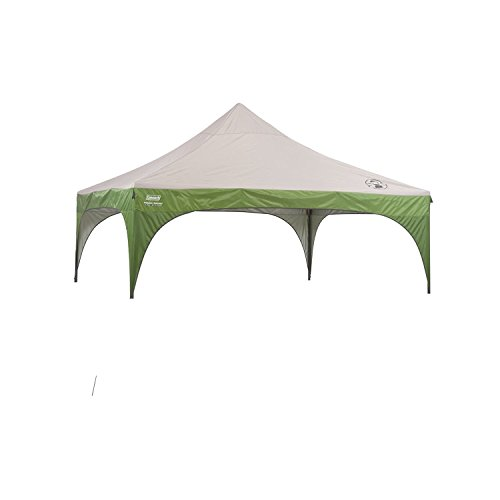 Coleman 10 215 10 New Instant Sun Shelter Canopy Gray Amp Green