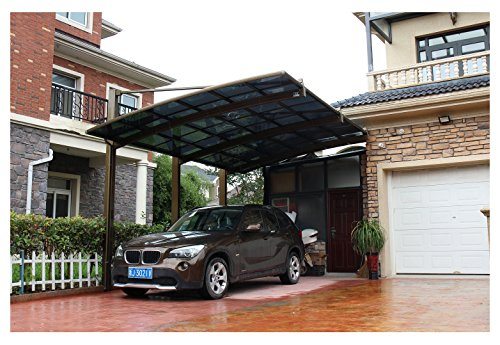10 x 20 Feet Metal Carports Canopies Garage Tent Shelter ...