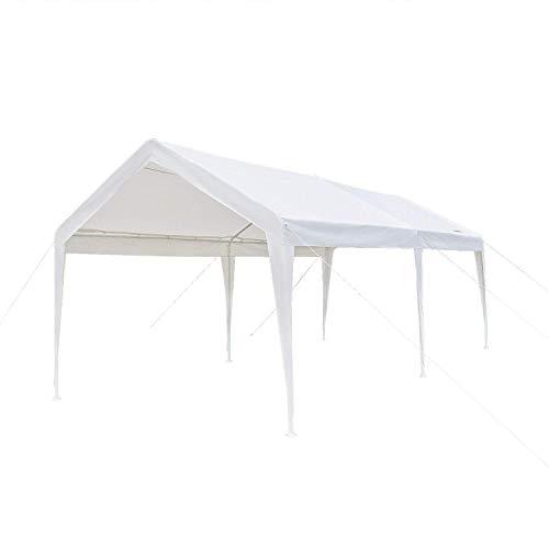 Vingli 10 X 20 Heavy Duty Carport Car Canopy W Edge
